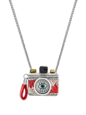 Camera Necklace - Souriez, Taratata