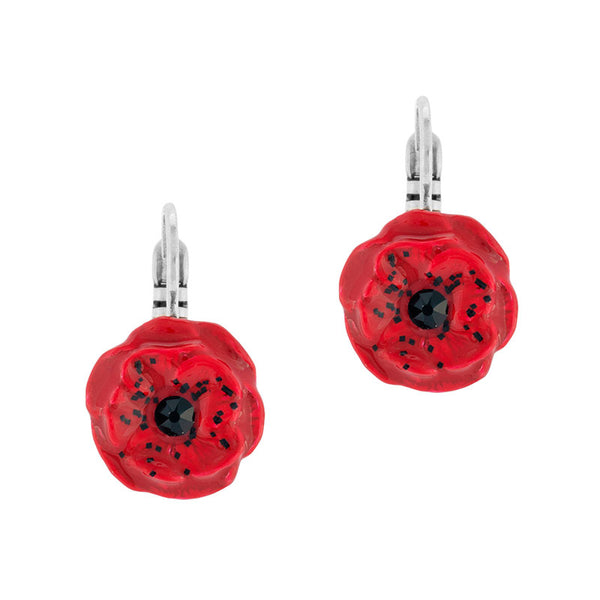 Poppie Earrings - Joli Coquelicot, Taratata