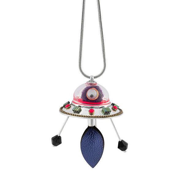 Flying Saucer Necklace - Spoutnik