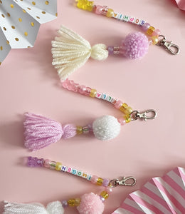 Personalised Bag Charms