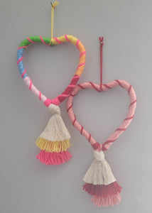 Valentine's Happy Heart Wall Hanging