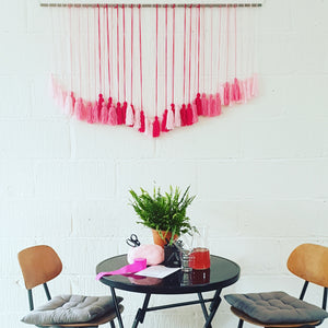 Tassel Drop Wall Hangings