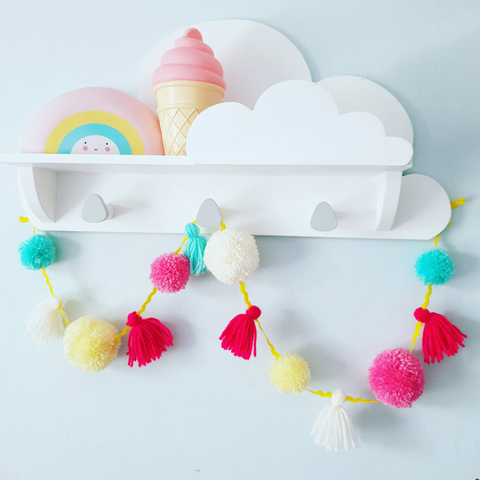 Pom Pom and Tassel Garlands