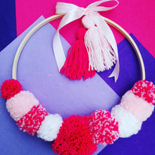 Load image into Gallery viewer, Pom Pom Wreaths