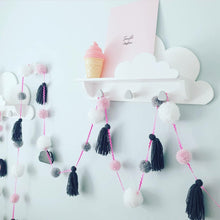 Load image into Gallery viewer, Pom Pom and Tassel Garlands