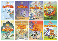 Adam Raccoon 8-Pack Book Set