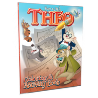 Theo Coloring and Activity Book