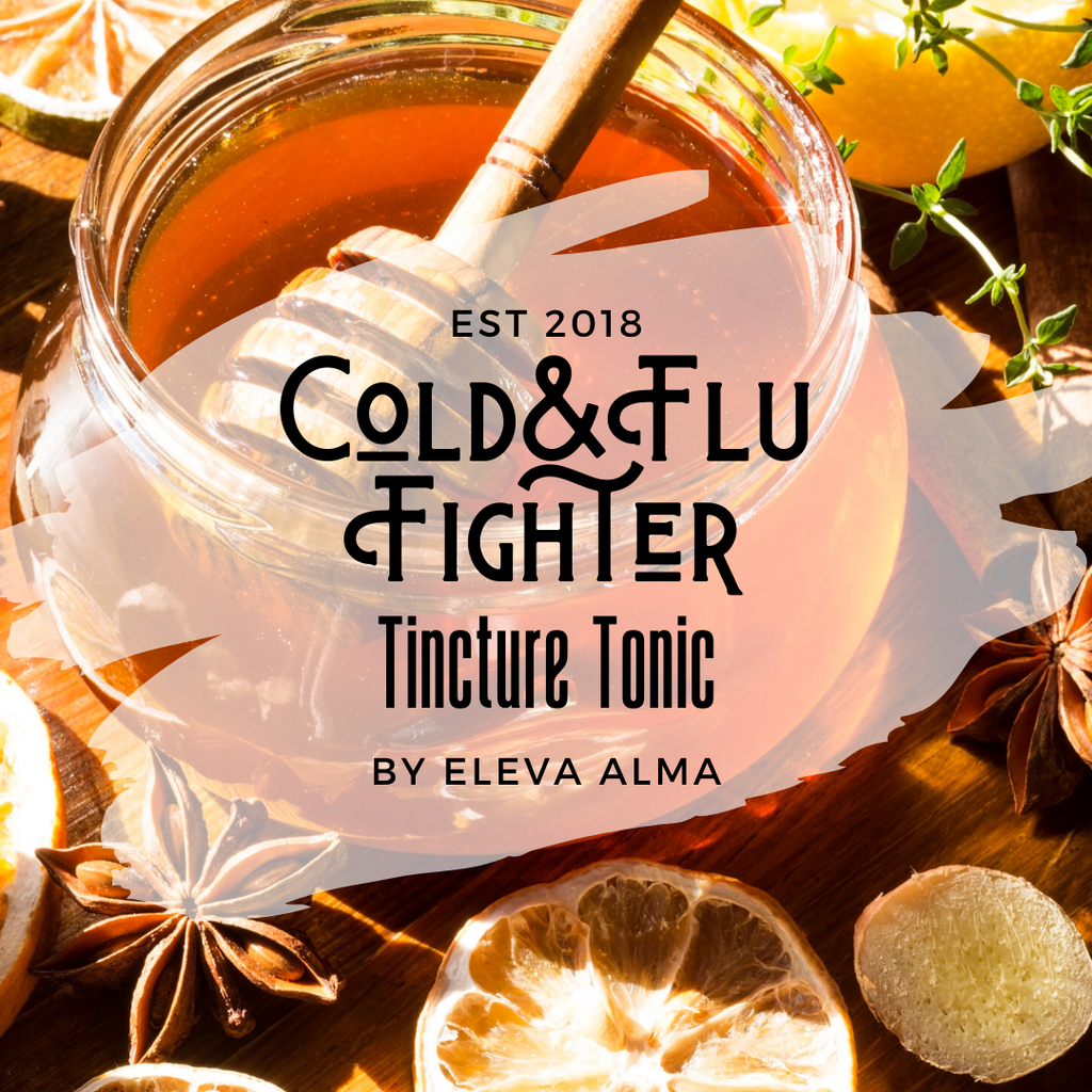 Cold & Flu Fighter Tincture Tonic