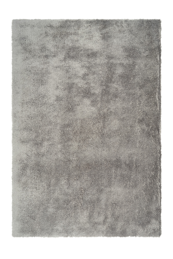 Cloud 500 Silver Shaggy Rug - Lalee Designer Rugs