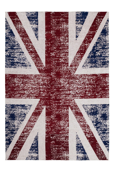 Cocoon 996 multi-coloured UK Flag Rug - Lalee Designer Rugs