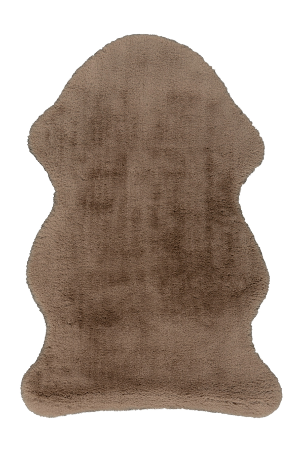 Cosy 500 Taupe Short Hair Hide Rug - Lalee Designer Rugs