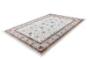 Classic 701 Cream Rug Traditional Design With Floral Patterns - Lalee Designer Rugs