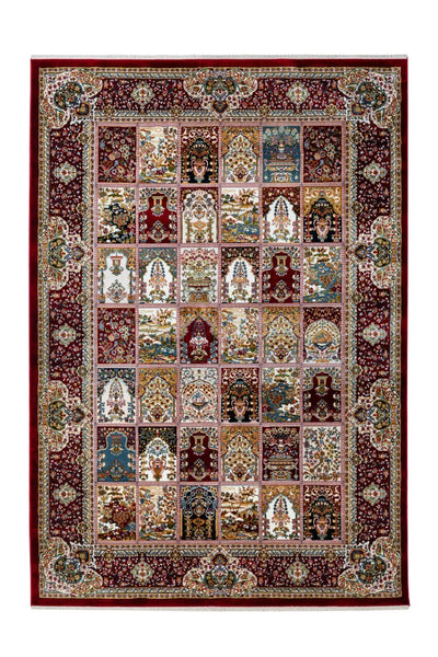 Classic 702 Red Traditional Design Rug - Lalee Designer Rugs
