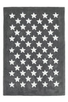 Dream 701 Grey Kids Rug with White Stars - Lalee Designer Rugs
