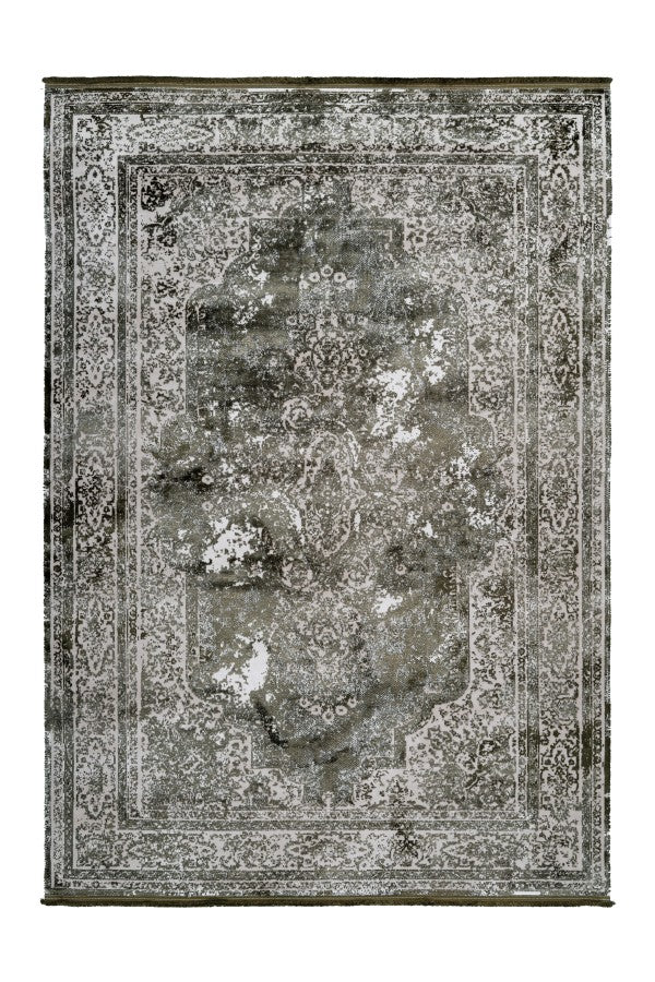 Pierre Cardin - Elysee 902 Green Transitional Faded Rug - Lalee Designer Rugs