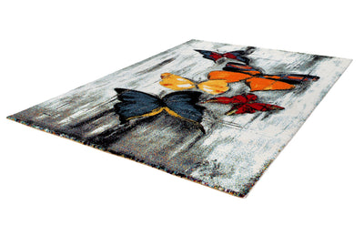 Espo 310 Rainbow Butterfly Multi Colour Rug - Lalee Designer Rugs