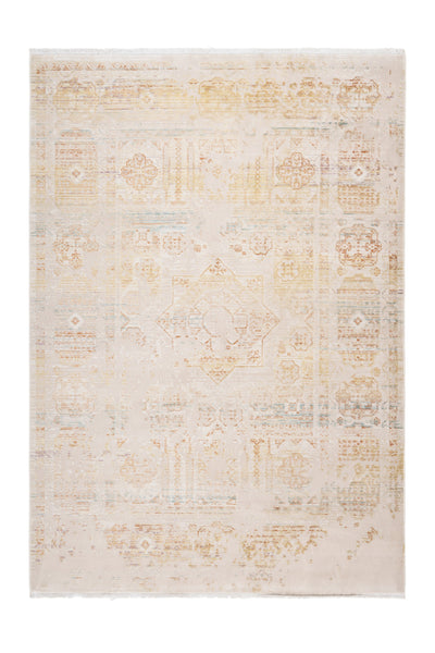 Fashion 901 Multi Beige-Yellow Acrylic Rug - Lalee Designer Rugs