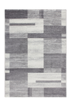 Feeling 501 Silver Simple Thick Geometric Rug - Lalee Designer Rugs
