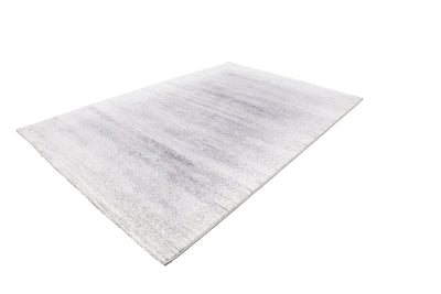 Feeling 502 Silver Plain Thick Rug - Lalee Designer Rugs