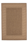 Finca 502 Coffee Border Outdoor/Kitchen Rug - Lalee Designer Rugs