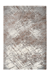 Harmony 401 Abstract Beige-Silver Rug with Jagged Lines - Lalee Designer Rugs