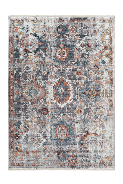 Medellin 403 Multi Colour Faded Rug - Lalee Designer Rugs