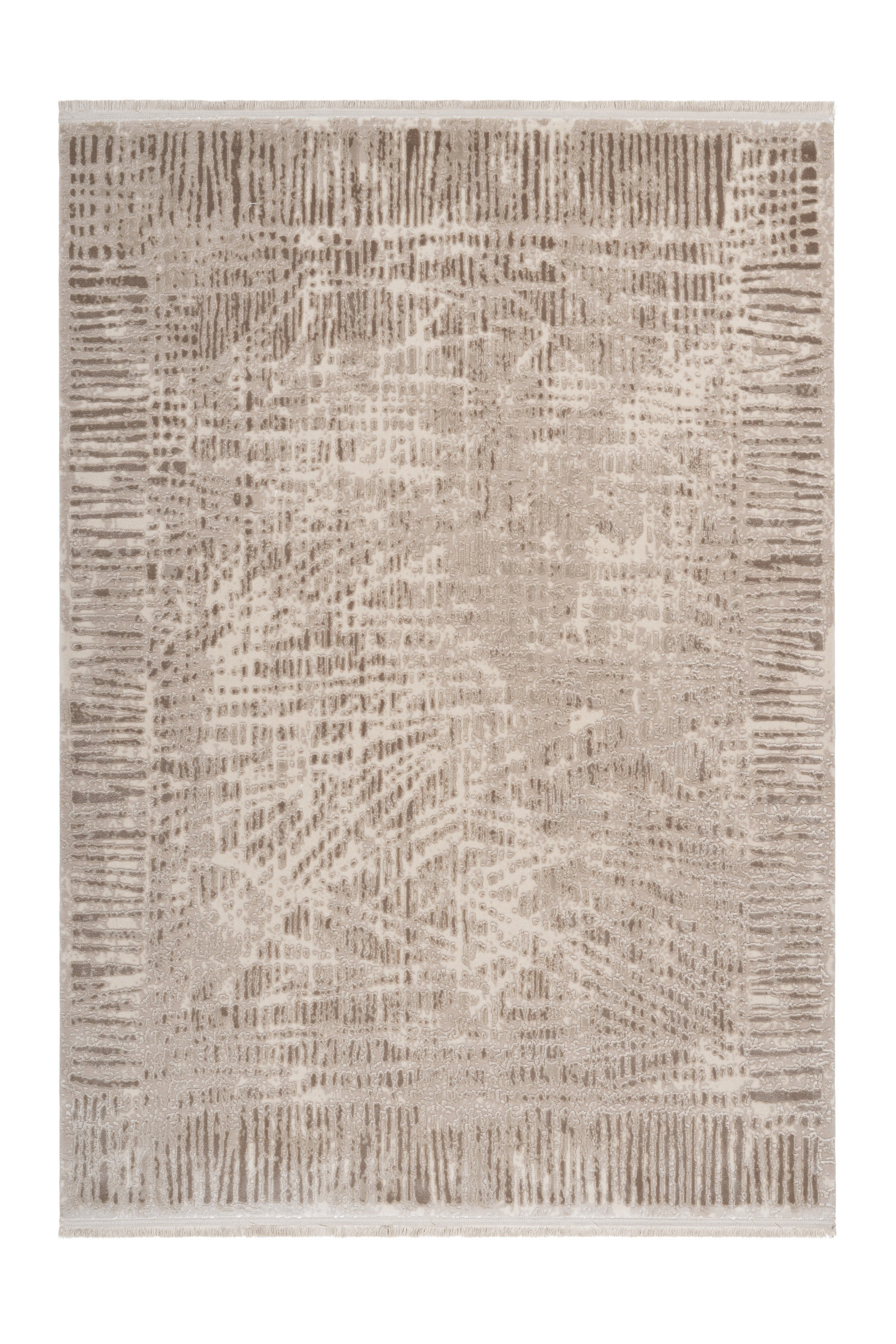Noblesse 903 Luxury Beige Rug with Abstract design - Lalee Designer Rugs