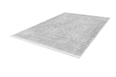 Noblesse 903 Luxury Silver Rug with Abstract design - Lalee Designer Rugs