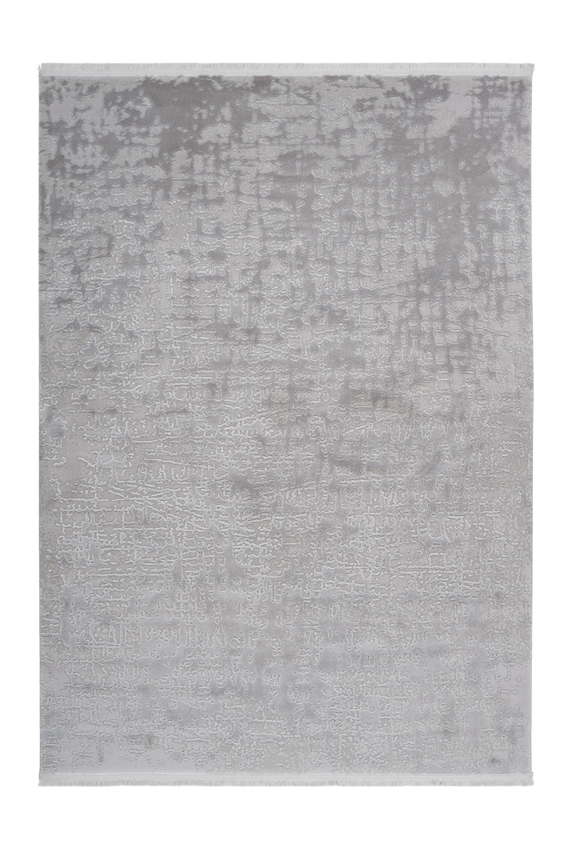 Noblesse 904 Luxury Silver Rug with Abstract design - Lalee Designer Rugs