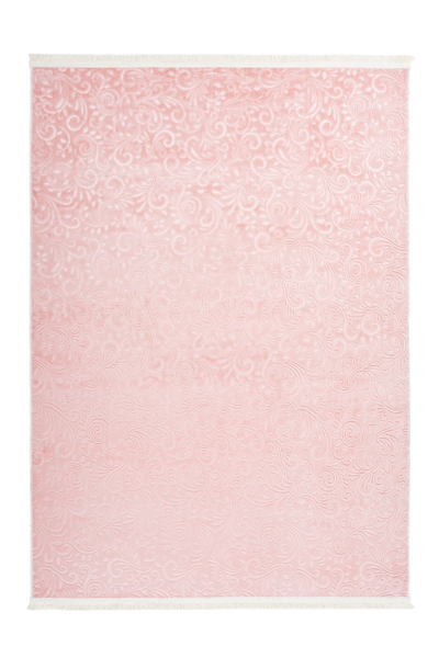 Peri 100 powder pink Machine Washable Rug - Lalee Designer Rugs