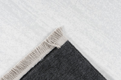 Peri 103 Black Machine Washable Rug - Lalee Designer Rugs