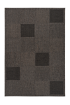 Sunset 605 Outdoor and Kitchen Taupe Rug with Geometric Design - Lalee Designer Rugs