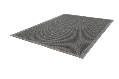 Sunset 607 Outdoor and Kitchen Silver Rug with Sisal Design - Lalee Designer Rugs