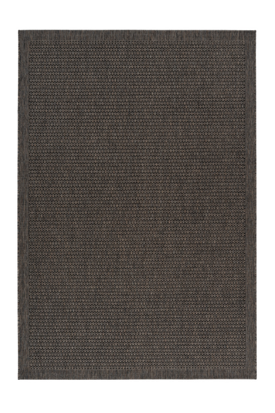 Sunset 607 Outdoor and Kitchen Taupe Rug with Sisal Design - Lalee Designer Rugs