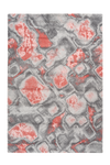 Sensation 505 Thick Modern Red Rug with Abstract Geometric Design - Lalee Designer Rugs
