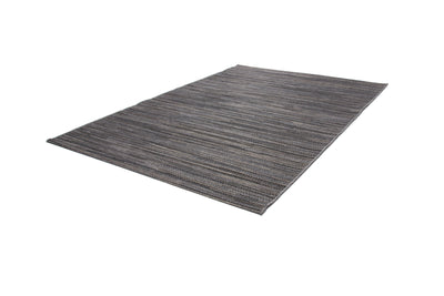Sunset 600 Outdoor and Kitchen Grey Rug with Jagged Lines - Lalee Designer Rugs