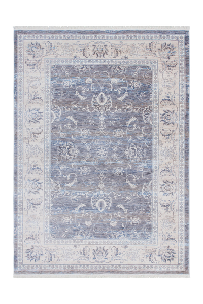 Vintage 700 Vintage Grey Rug with Faded Look - Lalee Designer Rugs