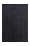 Velluto 400 Shaggy Soft Graphite Rug with Plain Look - Lalee Designer Rugs