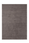 Velluto 400 Shaggy Soft Taupe Rug with Plain Look - Lalee Designer Rugs