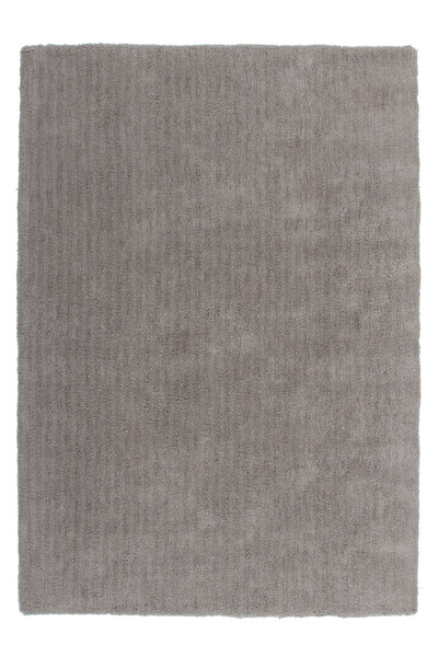 Velvet 500 Shaggy Plain Beige Rug with Soft touch - Lalee Designer Rugs