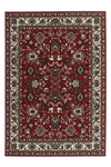 Sahara 117 Cheap Traditional Red Rug with Floral Design - Lalee Designer Rugs