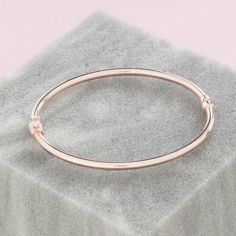 ROSE GOLD POLISHED SCHIAVE CUFF