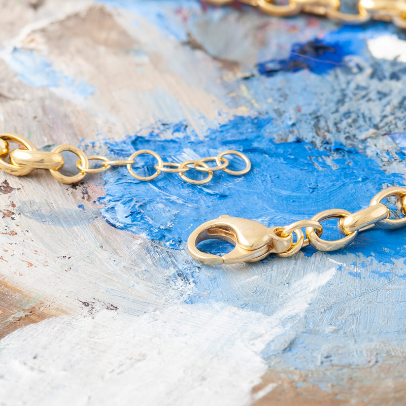GOLD CLASSIC BELCHER CHAIN NECKLACE