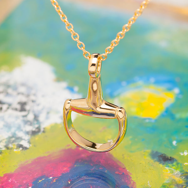 GOLD ANCHOR CHAIN PENDANT