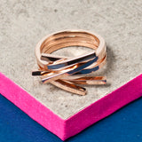ROSE GOLD SMALL TWIG RING