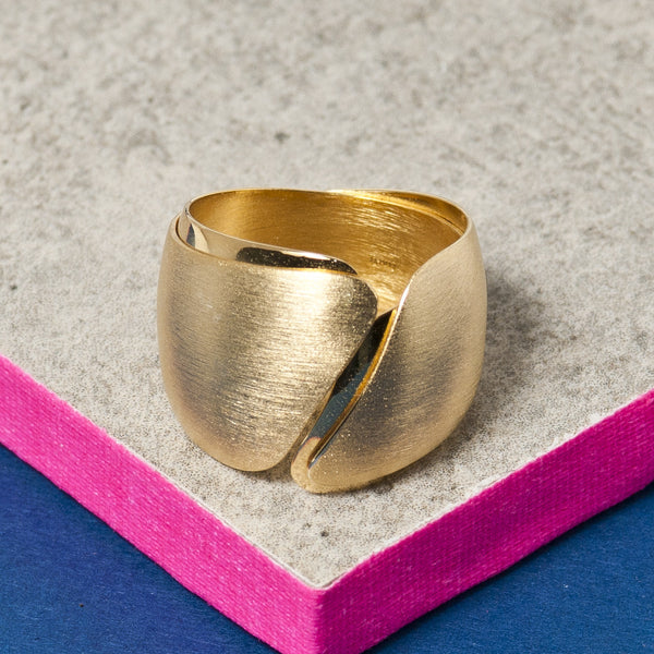 GOLD TWO TONE BAND