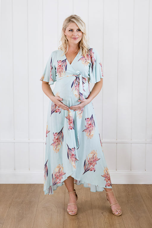 Harlow Maternity & Nursing Wrap Dress