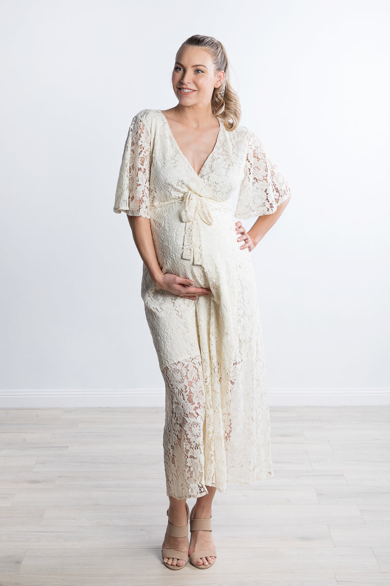 The One Lace Maternity Dress