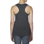 SOM - Ladies Racerback Tank Top, Charcoal