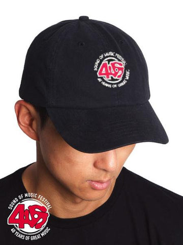 "SOM - Black ""Dad"" Hat, 40th Anniversary"